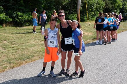 Rogers family ~ 2nd, 4th, & 1st Place Runners in their age groups!
