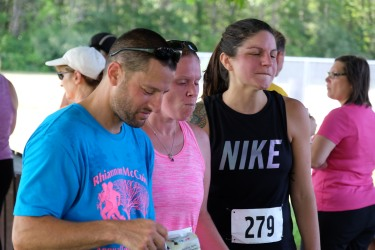 Former Mashpee High School track teammates: Justin, Amanda, Michaela