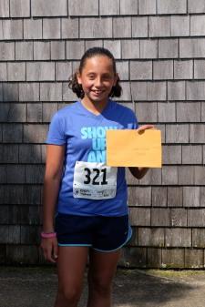 Lauren Rogers ~ F 1-11 ~ Her first 5K!
