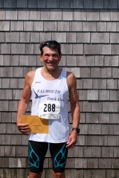 Dennis Herman - M 70-79 Won age group in Falmouth road Race last year